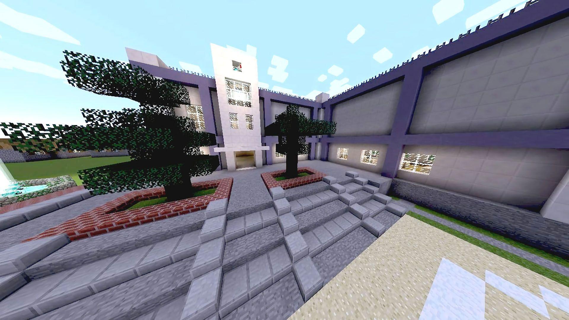 マインクラフトの学校